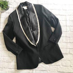 Isabel Marant H&M Black Tuxedo Wool Jacket 12